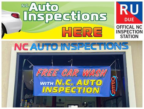 North carolina auto inspection out of state 13